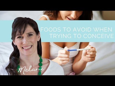 Foods to avoid when trying to conceive: dietitian recommendations | Nourish with Melanie #24