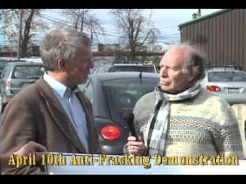 4/10/12 New Paltz Anti Fracking Demonstration