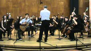 Rodrigo: Concierto de Aranjuez for guitar and orchestra, 2nd movement