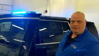 Police Vehicle Tahoe SSV Upfits for Willowick PD - Professionally Installed Police Equipement