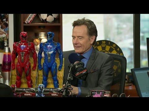 Bryan Cranston brings Power Rangers to Dan Patrick Show