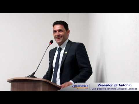 Vereador se pronunciou após ser eleito Presidente da Câmara