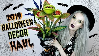 Halloween Decor Haul 2019