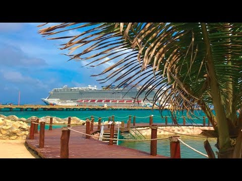 Norwegian Escape Cruise VLOG August 5, 2017 -- Western Caribbean Cruise