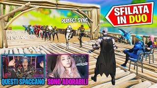 SFILATA IN DUO (FASHION SHOW SKIN) su FORTNITE (PERFECT SYNC)
