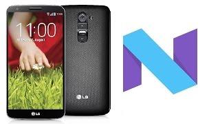 ✹Android Nougat 7.0   LG G2 D802/D805   Custom ROM - AOSP 7.0