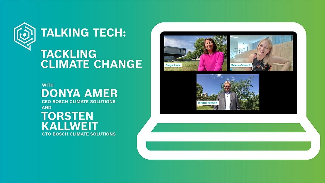 Tackling climate change: Talking tech with smart minds – the Bosch Global sofa sessions #5