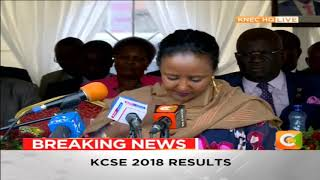 KCSE Results 2018 | List of top 20 students countrywide