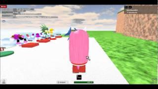 Sonic rencontre Amy sur ROBLOX