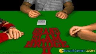 Grand Slam Bridge II gameplay (PC Game, 1992)