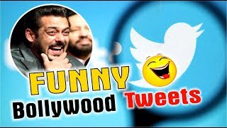 FUNNY TWEETS OF BOLLYWOOD l TOP 5 TWEETS l PUNJABI COMEDY VIDEO l FUNNY VIDEO