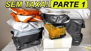 Unboxing lançamentos da China SEM TAXA! (Parte 1)