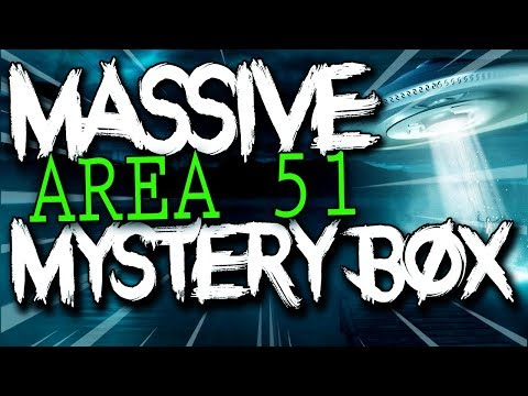MASSIVE Area 51 Mystery Box Opening.. (MUST WATCH)