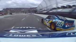 Jimmie Johnson onboard 2012 Tums Fast Relief 500 at Martinsville last 20 laps