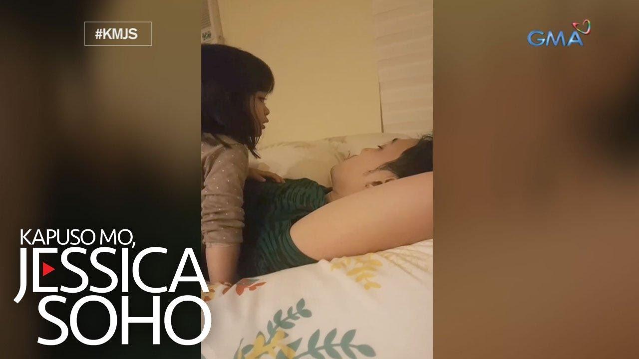 Download Kapuso Mo, Jessica Soho: Dalawang taong gulang na bata, viral matapos tila sermunan ang amang lasing