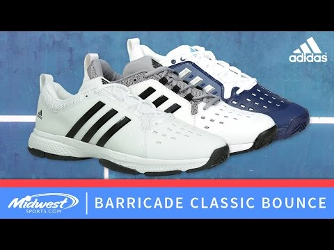 adidas Barricade Classic Bounce Tennis Shoe YouTube