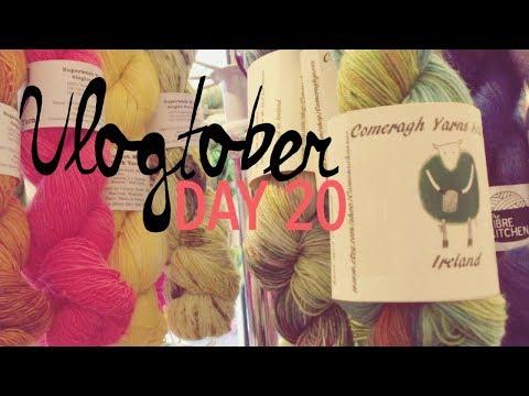 Irish yarn shops! :: Vlogtober 20 :: kimsmithhappy