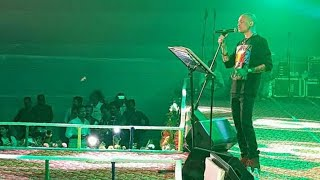 Zubeen Garg performed his new song Din Jwole Raati Jwole at NAMAMI BARAK || Mission China ||