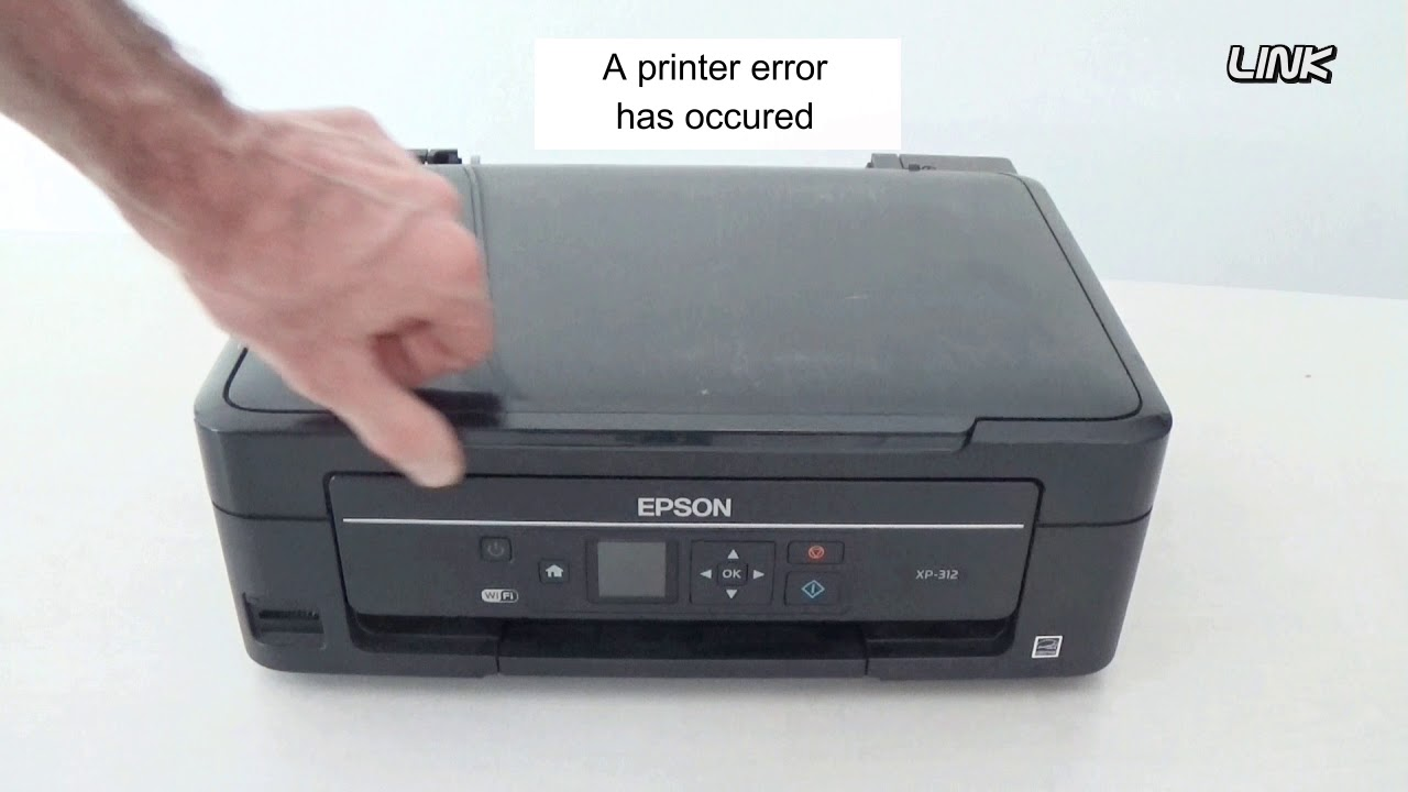 My EPSON STYLUS PHOTO RX420 Printer Is Flashing 'error' All