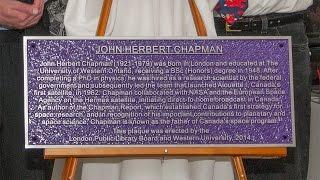 John H. Chapman Plaque Unveiling