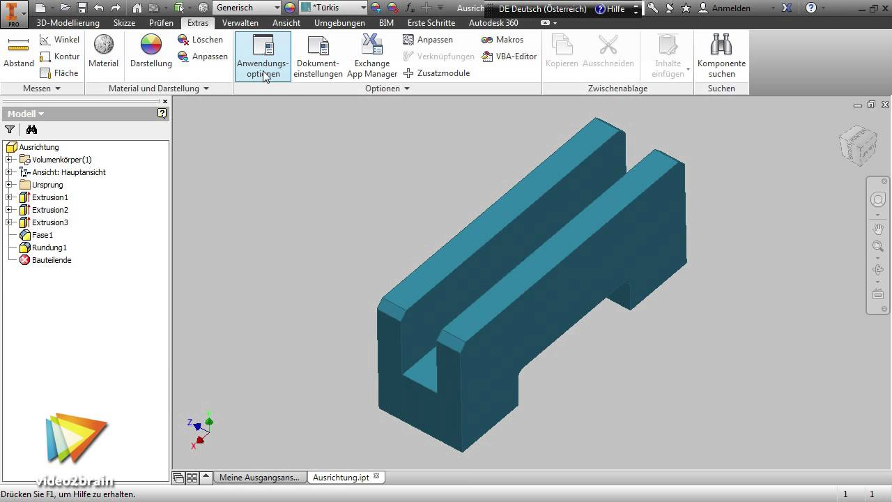 Neue Funktionen in Autodesk Inventor 2015 Tutorial: Trailer ...