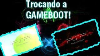 TROCANDO A GAMEBOOT DO PSP! (TELA DE INICIALIZAÇÃO)