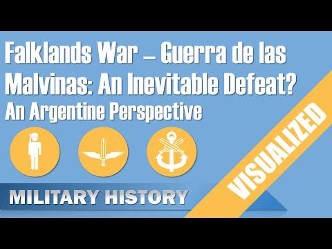 Falklands War - Argentine Perspective - An Inevitable Defeat? (Guerra de las Malvinas)