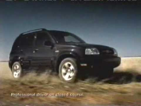 1999 Suzuki Grand Vitara Commercial 1