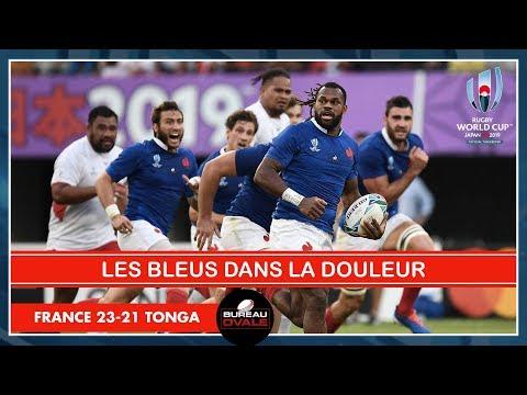 LES BLEUS (ENCORE) DANS LA DOULEUR ! France 23-21 Tonga (Débrief Coupe Du Monde Rugby)