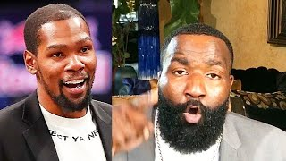 Kevin Durant Calls Kendrick Perkins A 'Sellout' For Criticizing Kyrie Irving Sitting Out NBA Return!