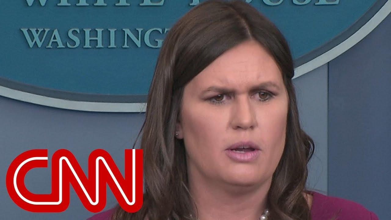 Sarah Sanders: Trump believes he can fire Mueller
