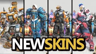 NEW SKINS! Bastion, Pharah, Soldier, Zarya (Overwatch) Anniversary Event