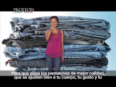 Estudio de Calidad de Pantalones de mezclilla para hombre [Revista del Consumidor TV 22.1]
