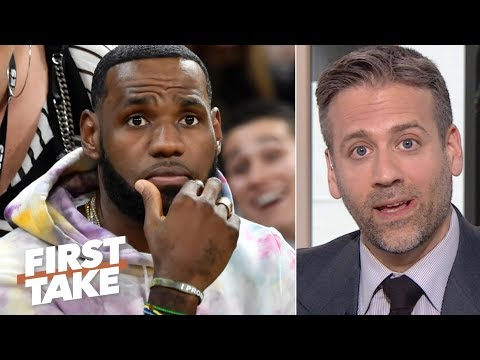 LeBron is on the clock for a championship after Anthony Davis trade  Max Kellerman  First Take