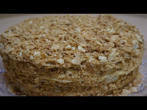 Торт наполеон из