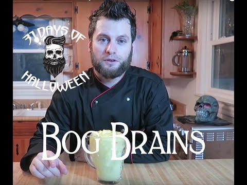 Bog Brains - Halloween Drinks - 5 of 31 Days of Halloween 2018 - DIY Halloween Treats
