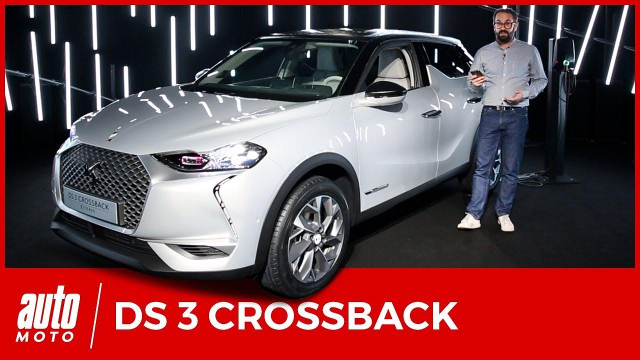 ds3 crossback 2019 d couverte de l 39 int rieur 1er avis youtube. Black Bedroom Furniture Sets. Home Design Ideas