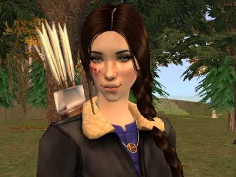 The Hunger Games Rue's death sims 2