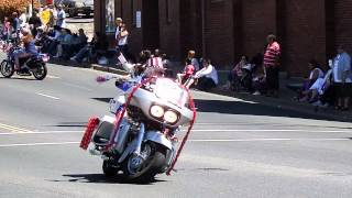 Vallejo,California, July 4th,2014 Motorcycles on Sonoma Blvd