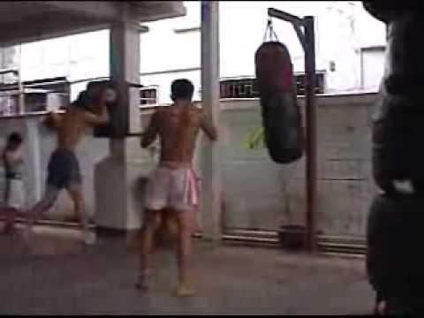 Muay Thai Sangka Training Part 1