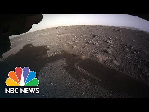 NASA Reveals New Images From Mars Taken By Perseverance Rover | NBC News NOW