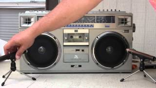 JVC RC-M70JW Boombox Unboxed & checked out