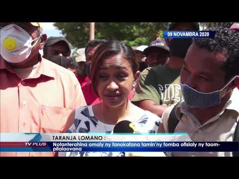 VAOVAO DU 09 NOVEMBRE 2020 BY TV PLUS MADAGASCAR