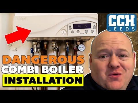 Dangerous Combi Boiler Installation - Faulty Gas Boilers - Plumber