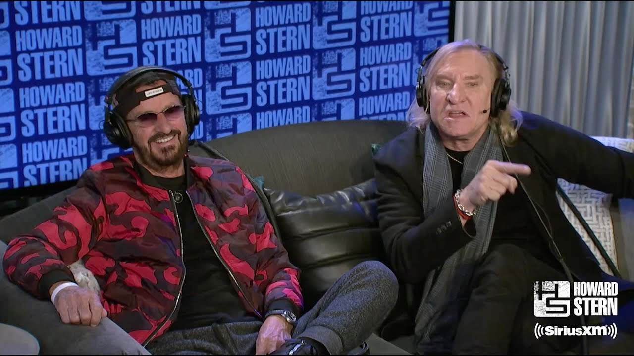 ringo starr and joe walsh are writing a new song together youtube. Black Bedroom Furniture Sets. Home Design Ideas