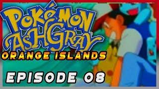 Pokemon Ash Gray Orange Islands Episode 08 - Danny Gym Battle Gameplay Walkthrough