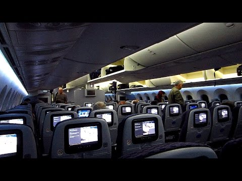 First flight on a Boeing 787 Dreamliner | Rio de Janeiro - Houston on United