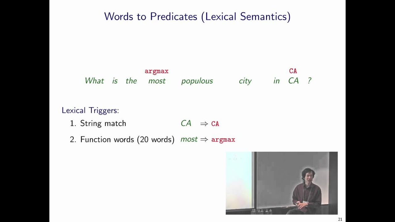 learning dependency-based compositional semantics thesis