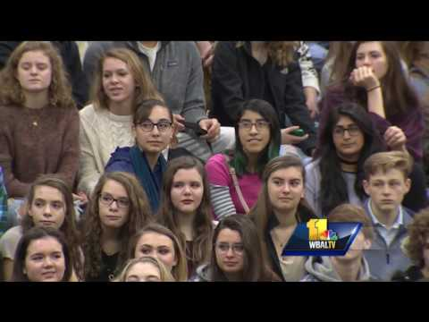 Video: Students excited over new Severna Park HS