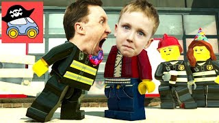 🚓 Lego City Undercover #21 ПОЖАРНЫЙ в Лего Сити Прохождение игры Жестянка